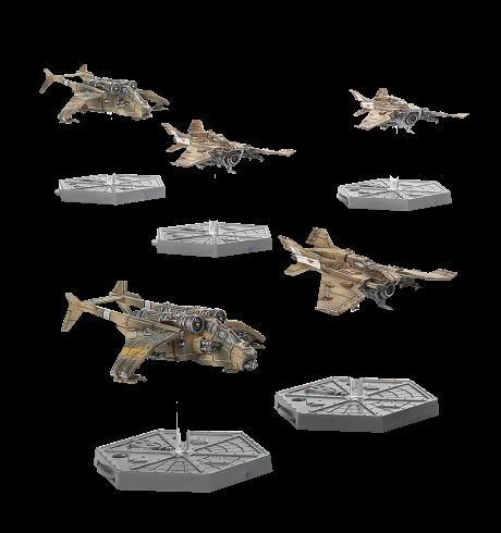 Skies of Fire—Astra Militarum Planes Image
